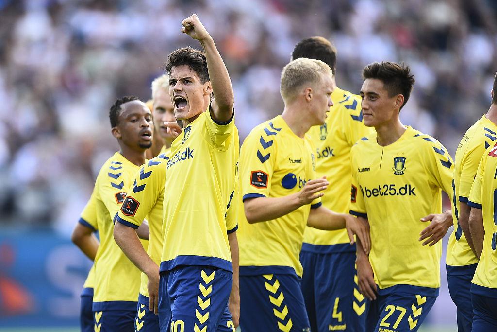AGF Arhus v Brondby IF - Danish Alka Superliga