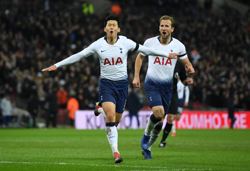Son og Kane, Tottenham