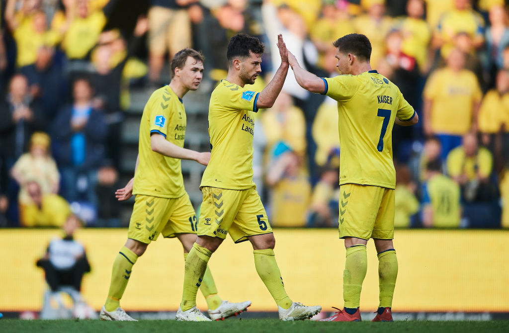 Brondby IF vs Randers FC - Danish Superliga Playoff