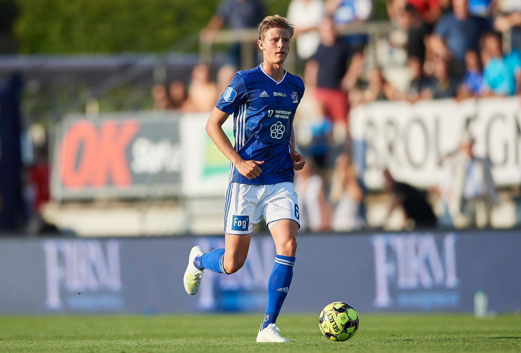 Frederik Winther, Lyngby