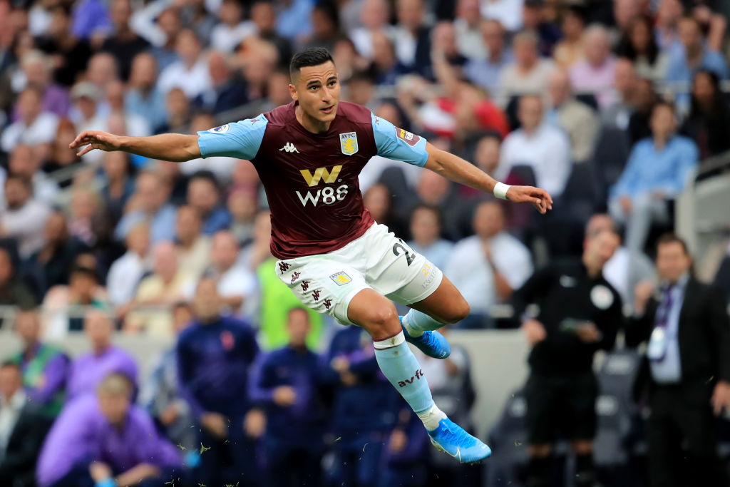 Anwar El Ghazi for Aston Villa