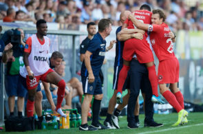 SonderjyskE vs FC Midtjylland - Danish 3F Superliga