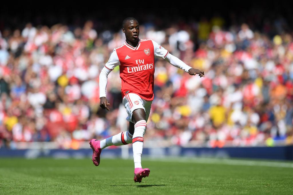 Nicolas Pepe for Arsenal