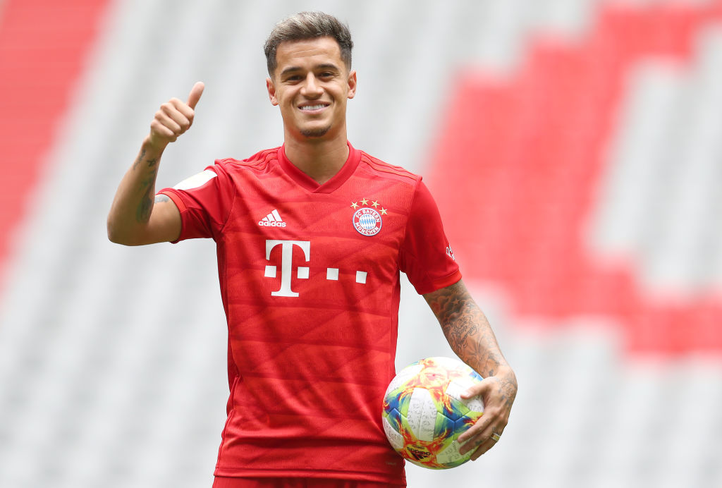 Philippe Coutinho for Bayern München