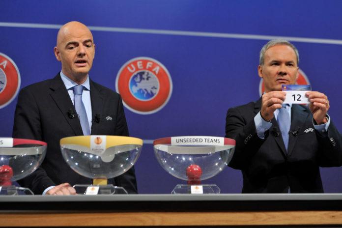Europa League lodtrækning