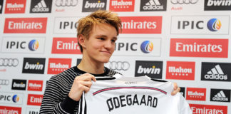 Martin Ødegaard i Real Madrid