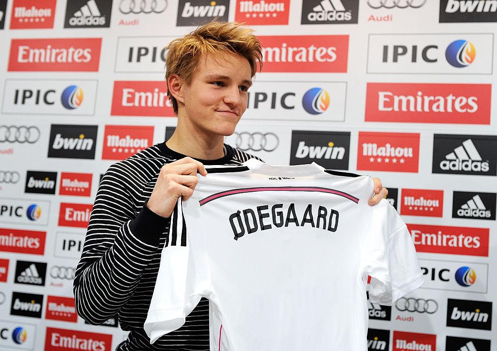 Martin Ødegaard i Real Madrid