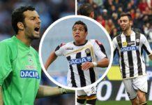 Alexis, Handanovic og Fernandes fra deres tid i Udinese