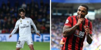 Isco for Real Madrid og Callum Wilson for Bournemouth