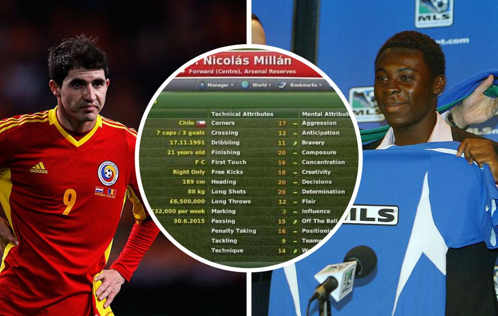 Nicolas Millan Freddy Adu Bogdan Stancu Football Manager wonderkids