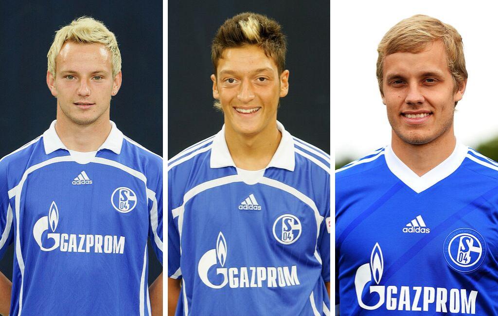 Rakitic Özil Pukki Schalke 04