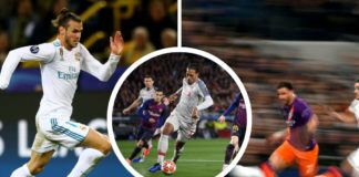 Virgil van Dijk, Gareth Bale og Kyle Walker Champions League