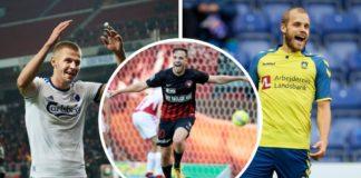 Denis Vavro, FC København, Filip Novak, FC Midtjylland, Teemu Pukki, Brøndby IF