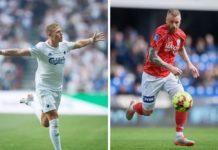 VIktor Fischer, FC København, FCK, og Ronnie Schwartz, Silkeborg IF, SIF