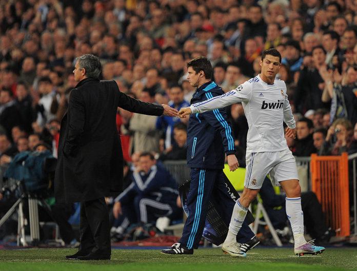 Jose Mourinho og Cristiano Ronaldo