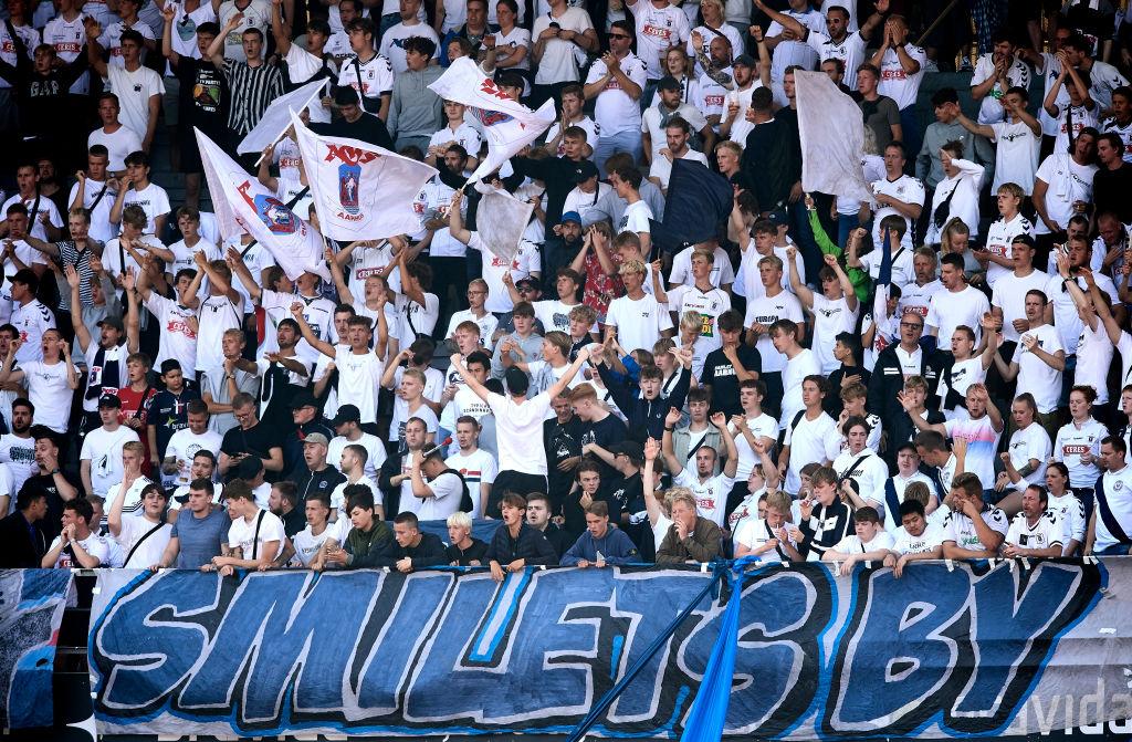 AGF Aarhus vs FC Midtjylland - Danish 3F Superliga