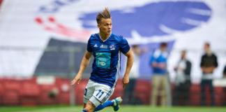 André Riel for Lyngby mod FCK