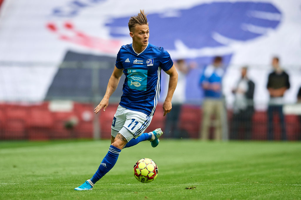 André Riel for Lyngby mod FCK