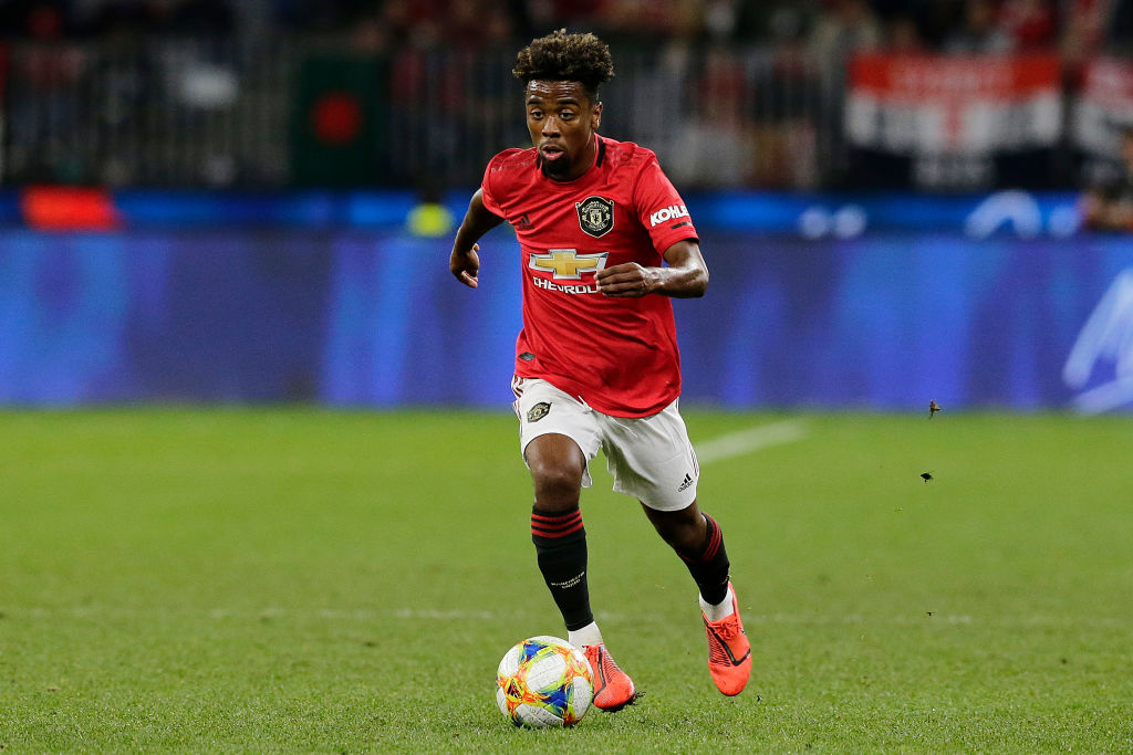 Angel Gomes, Manchester United