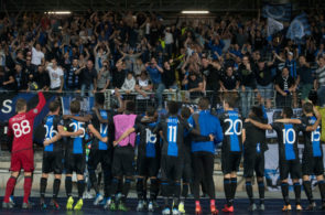 Linzer ASK vs Club Brugge  - Champions League Play Off