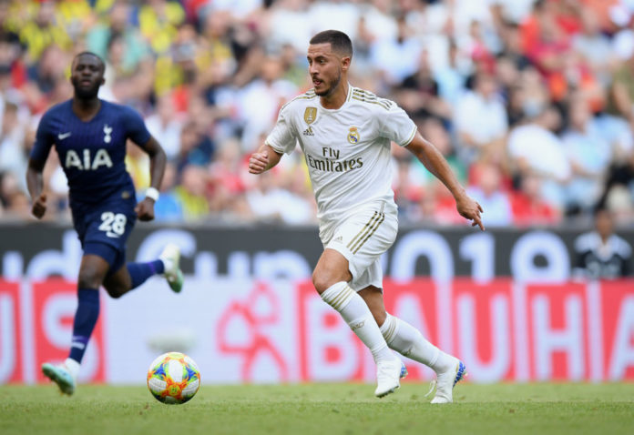 Eden Hazard for Real Madrid