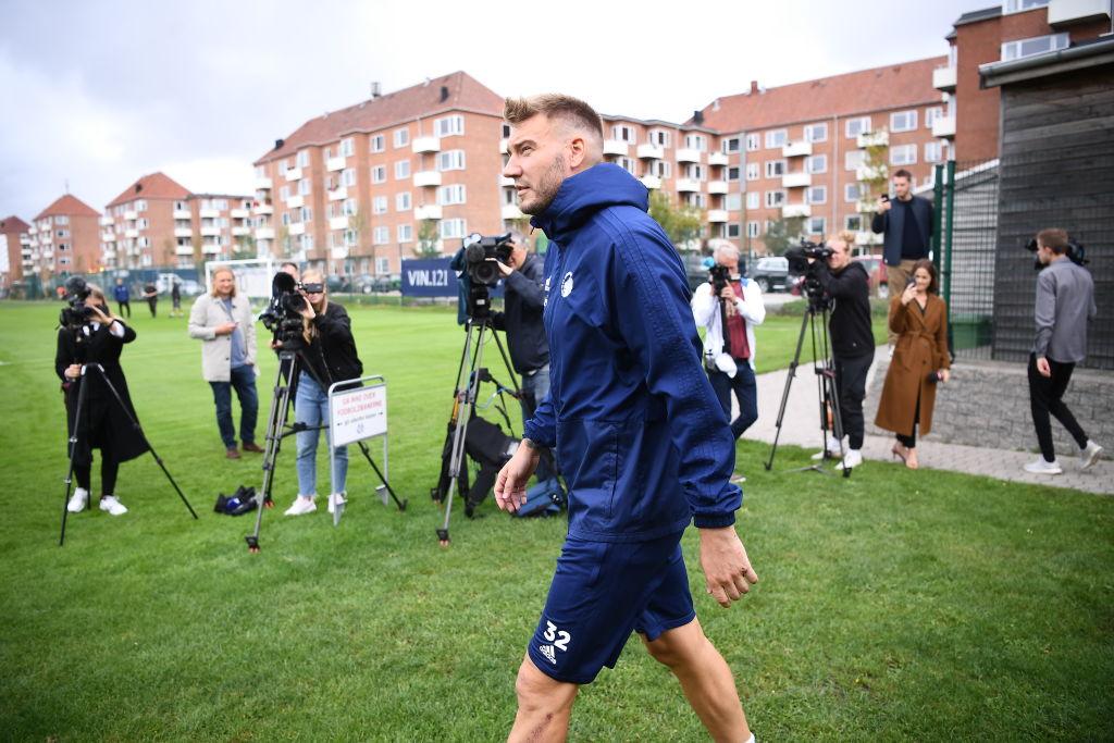 FC Copenhagen Training Session and Press Conference