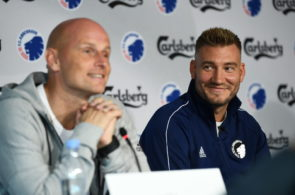 FC Copenhagen Training Session and Press Conference