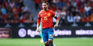 Sergio Ramos, Spanien