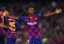 Ansu Fati for Barcelona
