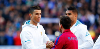 Lionel Messi, Barcelona, og Cristiano Ronaldo, Real Madrid
