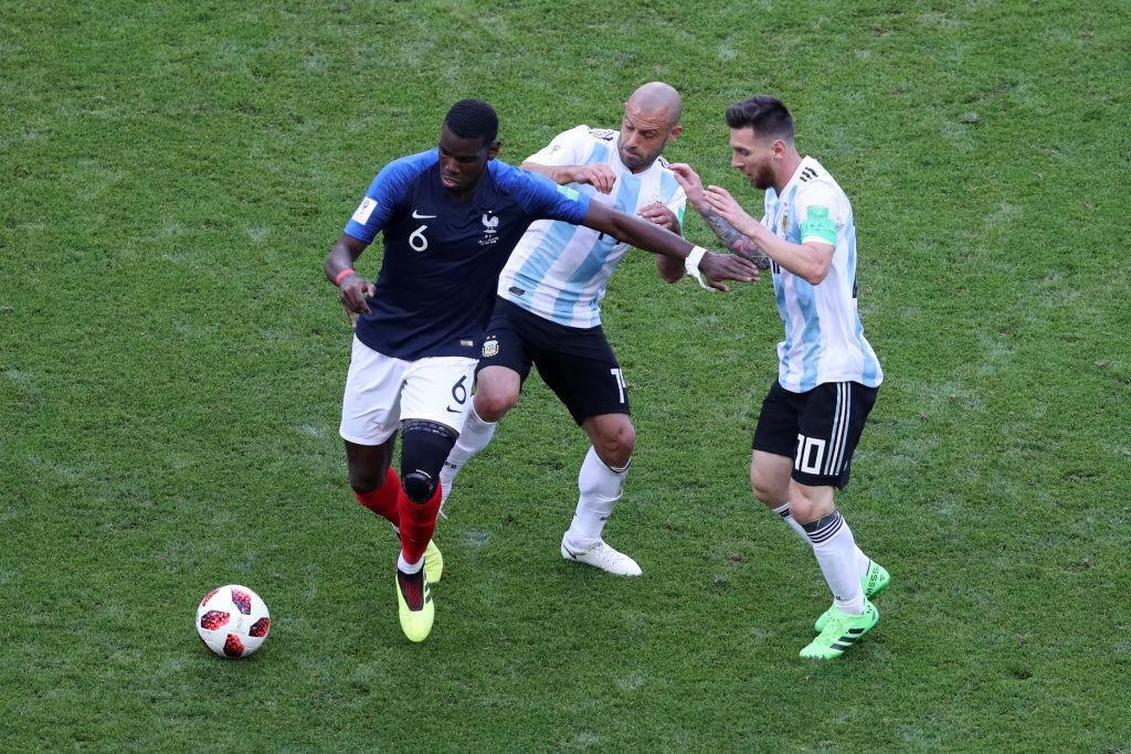 Paul Pogba, Lionel Messi