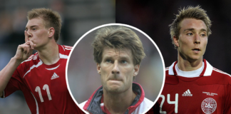 Nicklas Bendtner Michael Laudrup Christian Eriksen