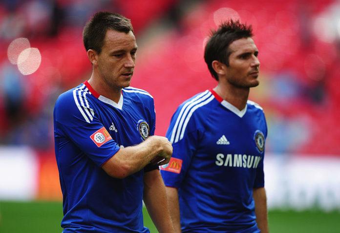John Terry og Frank Lampard, Chelsea