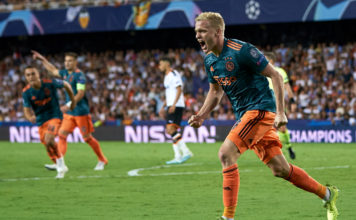 Valencia CF v AFC Ajax: Group H - UEFA Champions League image