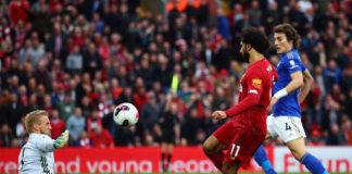 Mohamed Salah, Kasper Schmeichel
