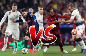Sergio Ramos Lionel Messi Virgil van Dijk Harry Kane