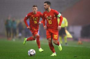 Eden Hazard, Belgien