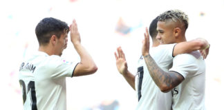 Brahim Diaz, Mariano Diaz, Real Madrid