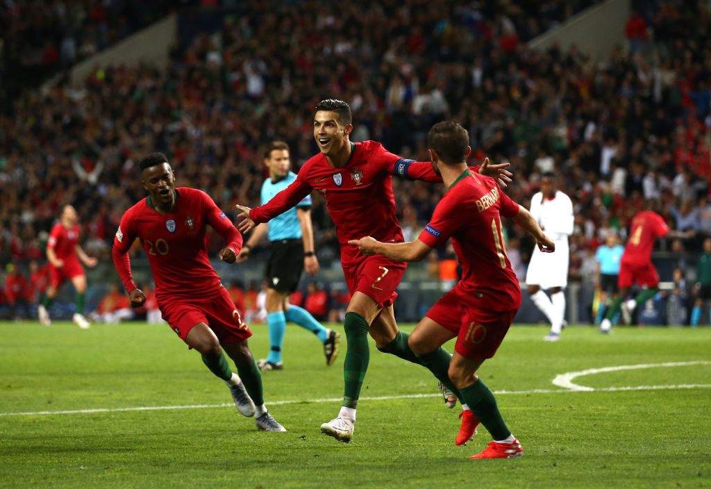Nelson Semedo Cristiano Ronaldo