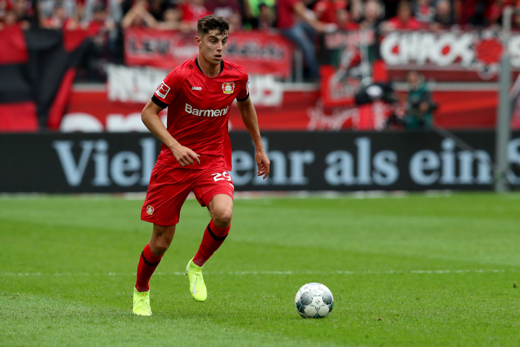 Kai Havertz, Bayer Leverkusen