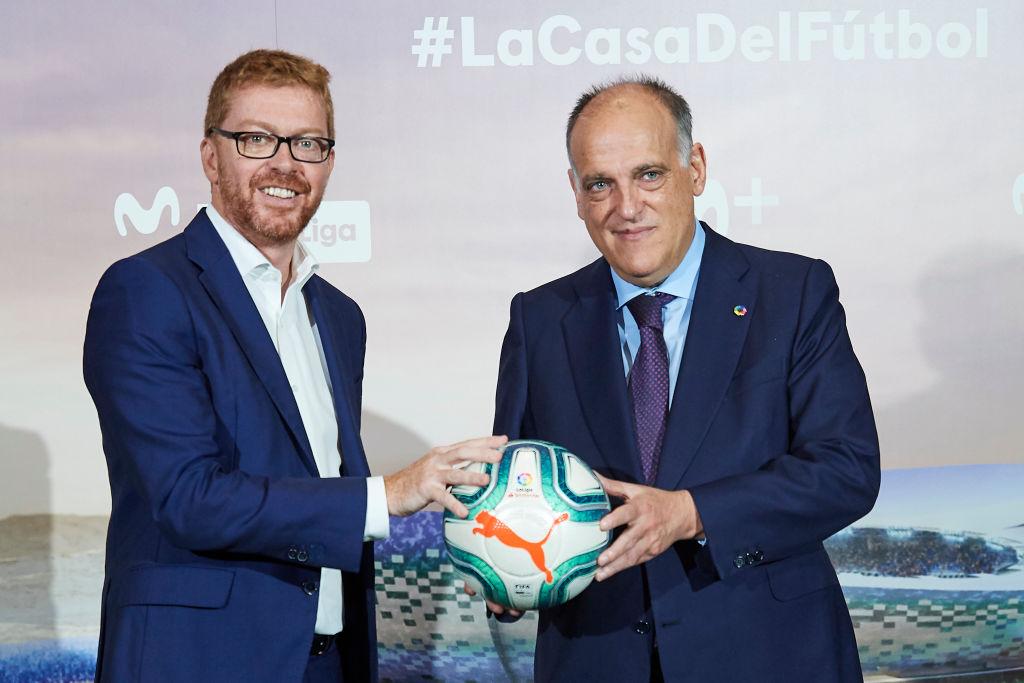 Javier Tebas, La Liga