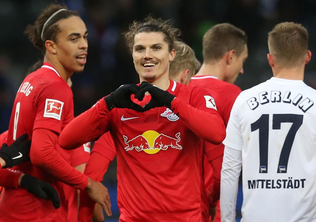 Yussuf Poulsen, RB Leipzig