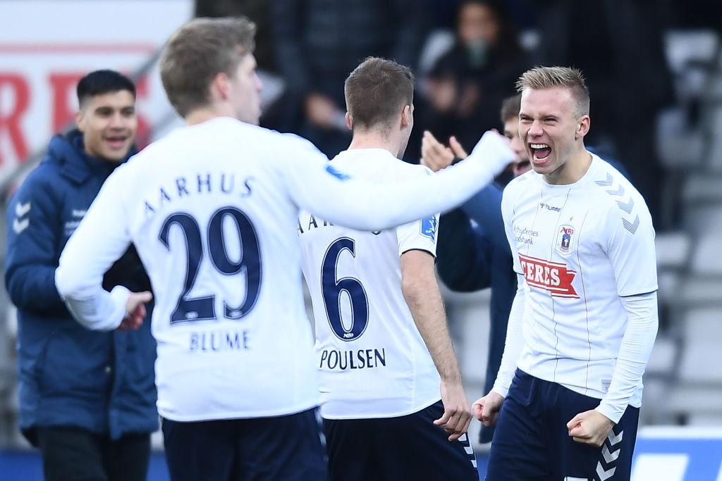 AGF Aarhus vs Sonderjyske - Danish 3F Superliga