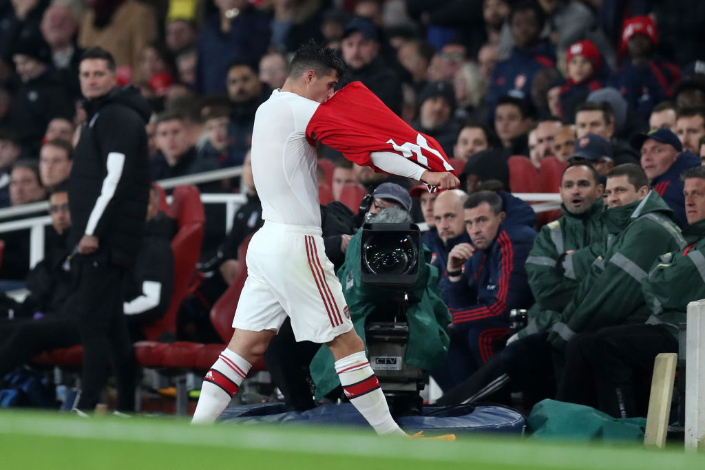 Granit Xhaka, Arsenal FC