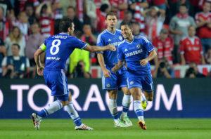 Frank Lampard, Eden Hazard