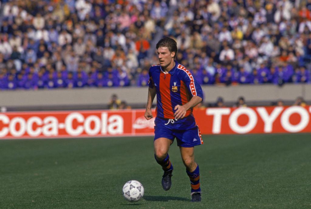 Michael Laudrup, FC Barcelona