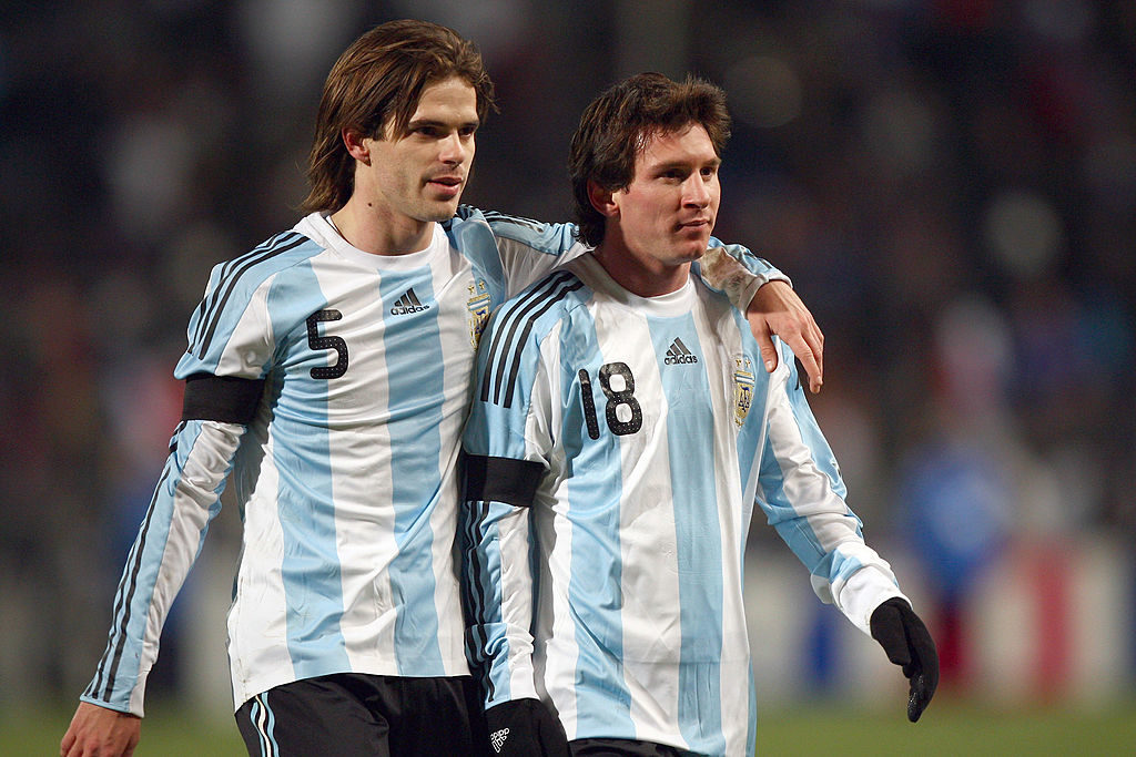 Fernando Gago Lionel Messi