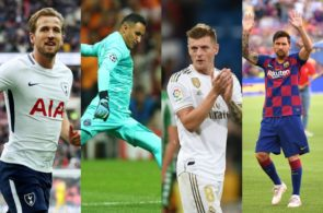 Bedste spillere fra gruppespillet i Champions League