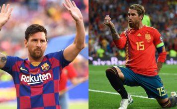 Lionel Messi og Sergio Ramos image