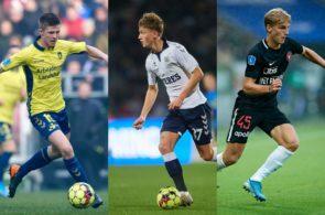 Superliga-talenter fra Brøndby, FC Midtjylland og AGF